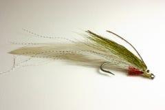 Señuelo de la trucha para la pesca de mosca Foto de archivo