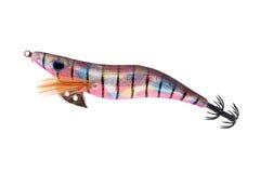Señuelo plástico de la pesca Fotografía de archivo libre de regalías