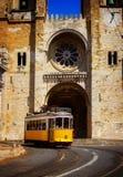 Se大教堂,里斯本,葡萄牙 图库摄影