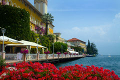 Lake Garda royaltyfria foton