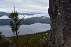 Se över en lake Arkivfoton