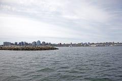 Se över Halifax Dartmouth arkivbild