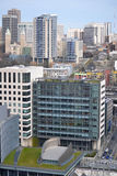 Se över Seattle från Smith Tower observationsdäck, Seattle, Washington Royaltyfria Foton