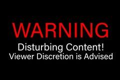 Se aconseja la discreción contenta de cuidado del espectador que perturba libre illustration