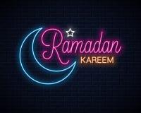 Se?al de ne?n de Ramadan Kareem E