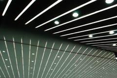 Se alineó las luces Foto de archivo