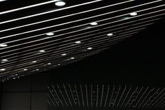 Se alineó las luces Fotografía de archivo libre de regalías