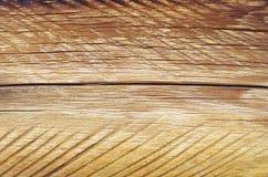 Se av antikt trä av ljus färg i en trävägg Fotografering för Bildbyråer