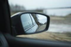 Se av bilen Arkivfoto