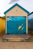 Se baigner enferme dans une boîte # 2 Images libres de droits