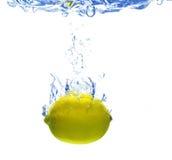 Se cae el limón Fotos de archivo