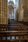 Se catedral, Porto cathedral. Portugal. Royalty Free Stock Image