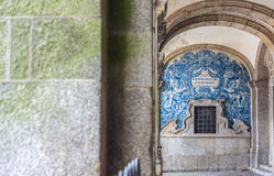 Se catedral, Porto cathedral. Portugal. Royalty Free Stock Photo