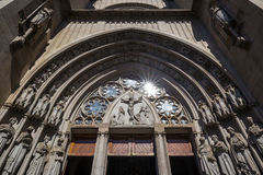 Se Cathedral in downtown Sao Paulo. Brazil Royalty Free Stock Photos
