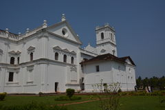 Se cathedral in Goa Royalty Free Stock Photos