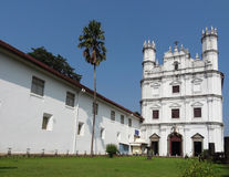 Se Cathedral in Goa Royalty Free Stock Image