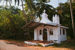Se Cathedral in  Goa Royalty Free Stock Photo