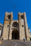 Se cathedral, Lisbon, Portugal Royalty Free Stock Images