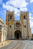 Se Cathedral in Lisbon, Portugal Royalty Free Stock Photos
