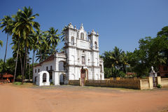Se Cathedral in Old Goa stock photography