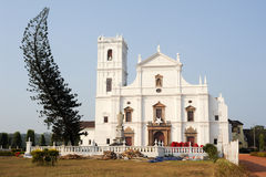 Se Cathedral in Old Goa , Goa Royalty Free Stock Photo