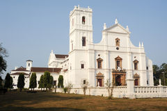 Se Cathedral in Old Goa , Goa Royalty Free Stock Photography