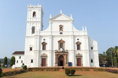 Se Cathedral in Old Goa , Goa Stock Image