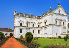 SE Cathedral in Old Goa, India Royalty Free Stock Image