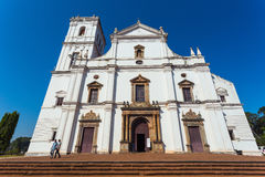 Se cathedral in Old Goa Stock Image