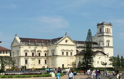 Se Cathedral -one of the biggest church in Asia Royalty Free Stock Photo