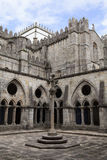 Se Cathedral in Porto. Cloister of Se Cathedral in Porto, Portugal Royalty Free Stock Photography