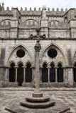 Se Cathedral in Porto. Cloister of Se Cathedral in Porto, Portugal Stock Image