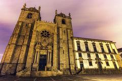 Se Cathedral in Porto. Se Cathedral (Porto Cathedral) in Porto. Porto, Norte, Portugal Stock Image