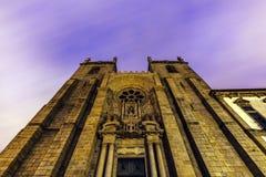 Se Cathedral in Porto. Se Cathedral (Porto Cathedral) in Porto. Porto, Norte, Portugal Royalty Free Stock Photos