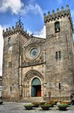 Se Cathedral of Viana do Castelo Stock Images