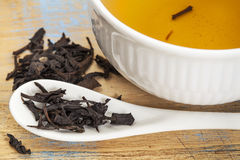 Se Chung Oolong tea Stock Image
