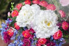 Se colore falso del fiore Fotografia Stock Libera da Diritti