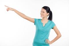 Se där borta! Fotografering för Bildbyråer