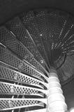 Se développer en spirales en haut Photos libres de droits