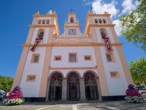 SE DA Santissimo Σαλβαδόρ DA Igreja, Angra, Αζόρες Στοκ φωτογραφίες με δικαίωμα ελεύθερης χρήσης