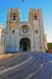 Se de Lisbona Immagini Stock