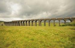 se den norr ribbleheadviaducten yorkshire Royaltyfria Foton