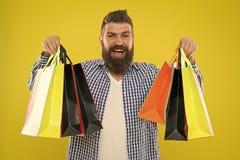 Se din k?phistoria Tyck om att shoppa l?nande avtal svarta fredag Shopping med rabatt tycker om k?pet man fotografering för bildbyråer