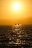 Se diriger à la mer Photos stock