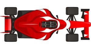 Se divierte el ejemplo de las carreras de coches libre illustration