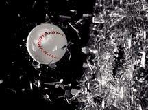 Se divierte el fondo del concepto béisbol Fotografía de archivo