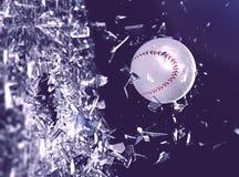 Se divierte el fondo del concepto béisbol Fotografía de archivo libre de regalías