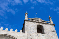 Se do Porto Porto Cathedral against the blue sky. Portugal Stock Photography