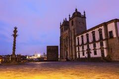 Se-domkyrka i Porto Royaltyfri Fotografi