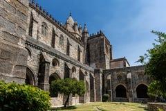 Se-domkyrkan av Evora, Portugal Arkivfoton